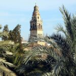 Torre de la Mezquita de Córdoba desde el Alcázar de los Reyes Cristianos