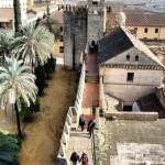 Muralla y Torre del Homenaje del Alcázar de los Reyes Cristianos en Córdoba