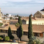 Vista de la Mezquita de Córdoba desde el Alcázar de los Reyes Cristianos