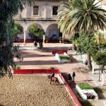 Caballerizas Reales desde el Alcázar de los Reyes Cristianos en Córdoba