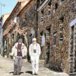 Villarreal de San Carlos en Monfrague en Extremadura
