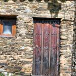Arquitectura rural en Villarreal de San Carlos en Monfrague en Extremadura