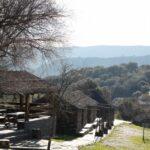 Zona de esparcimiento en Villarreal de San Carlos en Monfrague en Extremadura