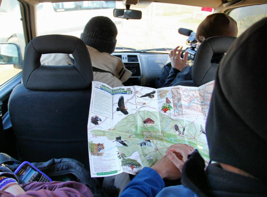 Visitas guiadas en rutas 4x4 del parque de Monfrague en Extremadura