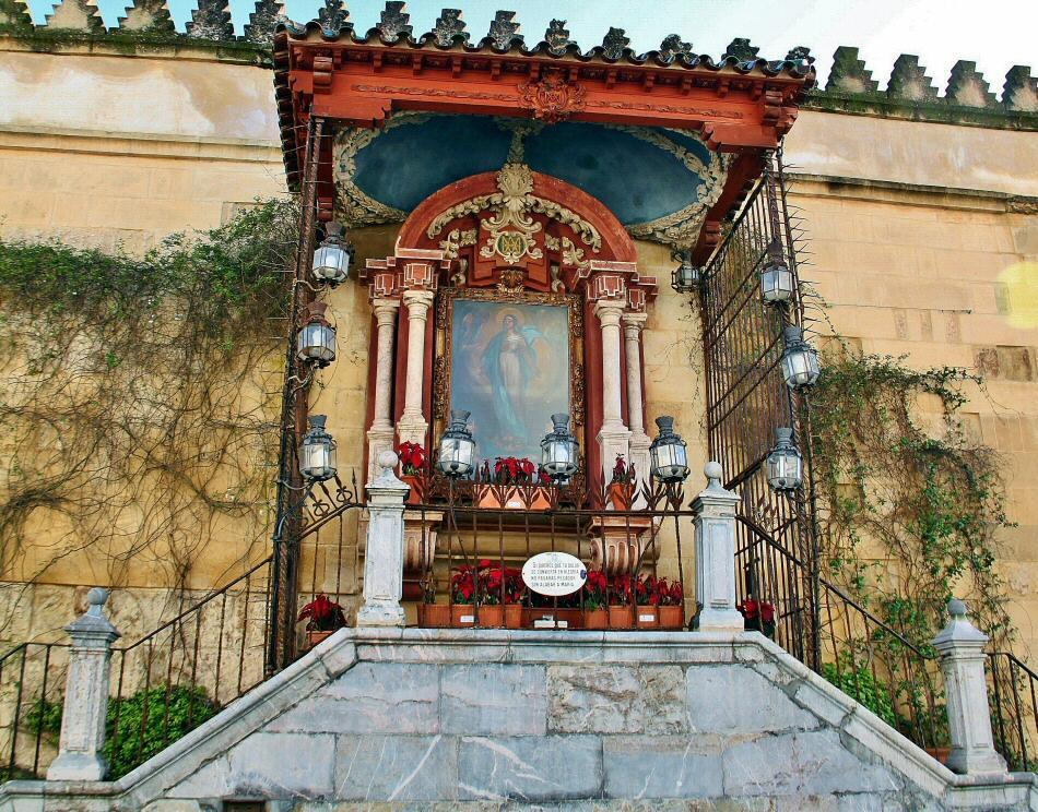 Virgen de los Faroles en Córdoba