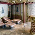 Spa en el interior del barco de cruceros Costa Serena