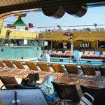 Piscinas del barco de cruceros Costa Serena