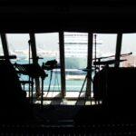 Escenario de actuaciones musicales en el barco de cruceros Costa Serena