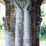 Columna de Santa María del Naranco de Oviedo en Asturias