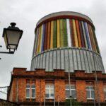 Antigua torre de refrigeración, sede actual de Musi Museo de la Siderurgia de La Felguera
