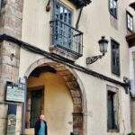 Rincón del centro histórico de Avilés en Asturias
