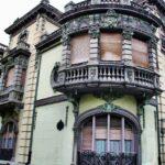 Palacio de Balsera en el centro histórico de Avilés en Asturias