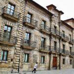 Palacio del Marqués de Camposagrado en Avilés en Asturias