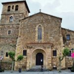 Iglesia de San Nicolás de Baria en Avilés en Asturias