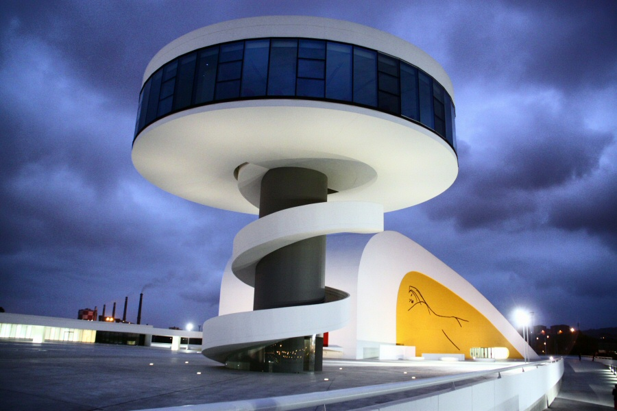 Avil s qu ver y hacer en el centro niemeyer gu as viajar for Arquitectura que ver en madrid