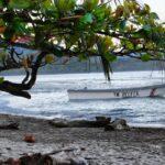 Playa caribeña de Puerto Viejo al sur de Costa Rica
