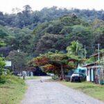 Paisajes y calles de Puerto Viejo al sur de Costa Costa
