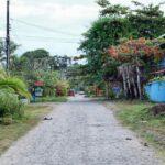 Paisajes y calles de Puerto Viejo al sur de Costa Rica