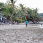 Playas caribeñas de Puerto Viejo al sur de Costa Rica