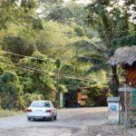 Paisajes en los alrededores de Puerto Viejo al sur de Costa Rica