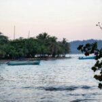 Atardecer en las playas caribeñas de Puerto Viejo al sur de Costa Rica