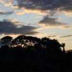 Atardecer en Puerto Viejo al sur de Costa Rica