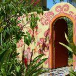 Tienda de artesanía en Puerto Viejo en el Caribe de Costa Rica
