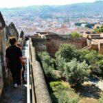 Murallas del castillo de Gibralfaro de Málaga