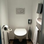 Aseo separado en la habitación del Hotel Suite Novotel de Málaga