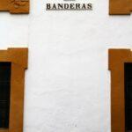 Patio de Banderas en el Barrio de Santa Cruz de Sevilla