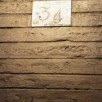 Numeración de tramos en las rampas de subida al campanario de la Giralda de Sevilla