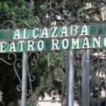 Conjunto de la Alcazaba y el Teatro Romano en el centro histórico de Málaga