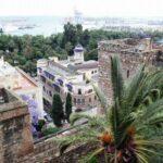 Vistas panorámicas desde la Alcazaba de Málaga