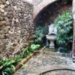 Pasaje interior de la Alcazaba de Málaga