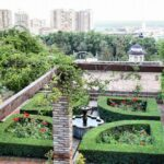 Jardines en la Alcazaba de Málaga