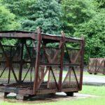 Instalación del Pozo San Luis del Ecomuseo minero de Samuño en Asturias