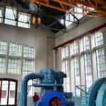 Maquinaria del Pozo San Luis del Ecomuseo minero de Samuño en Asturias