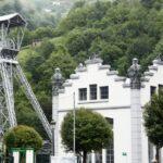 Pozo San Luis del futuro Ecomuseo minero de Samuño en Asturias