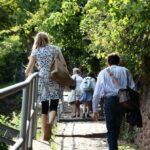Sendero de súbida al paseo de los Filósofos de Heidelberg en Alemania