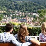 Mirador en el paseo de los Filósofos de Heidelberg en Alemania