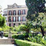 Jardines traseros de la Catedral de la Encarnación de Málaga
