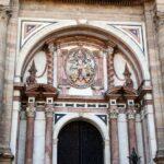 Fachada principal de la Catedral de la Encarnación de Málaga