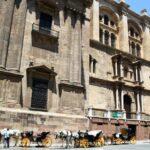 Fachada este de la Catedral de la Encarnación de Málaga