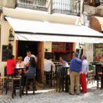 Bar en el centro histórico de Málaga