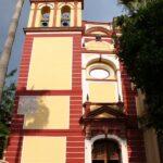 Iglesia de San Agustín en el centro histórico de Málaga