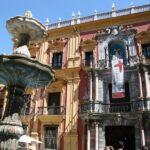 Palacio Episcopal en el centro histórico de Málaga