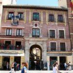 Pasaje de Chinitas en la plaza de la Constitución de Málaga