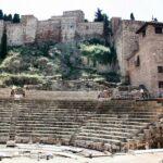 Teatro Romano en el centro histórico de Málaga