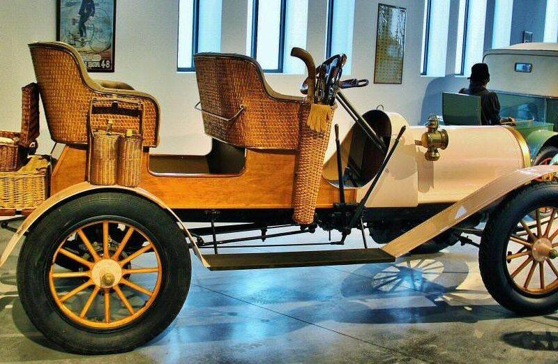 Richmond de 1907 en museo Automovilístico de Málaga