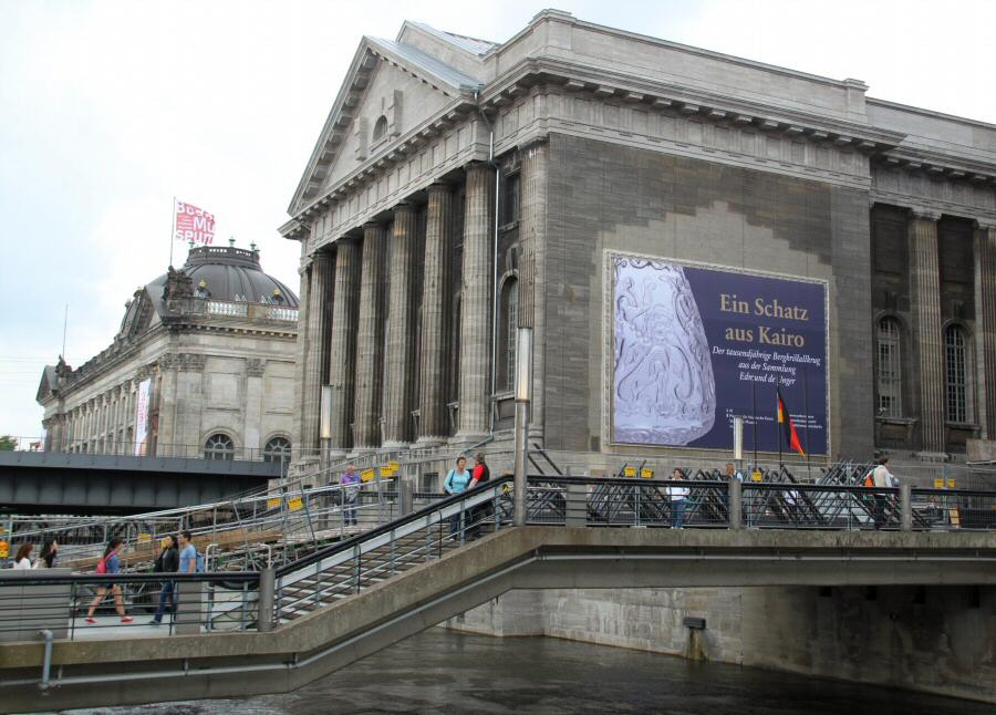 Museo de Pérgamo en la Isla de los Museos de Berlín
